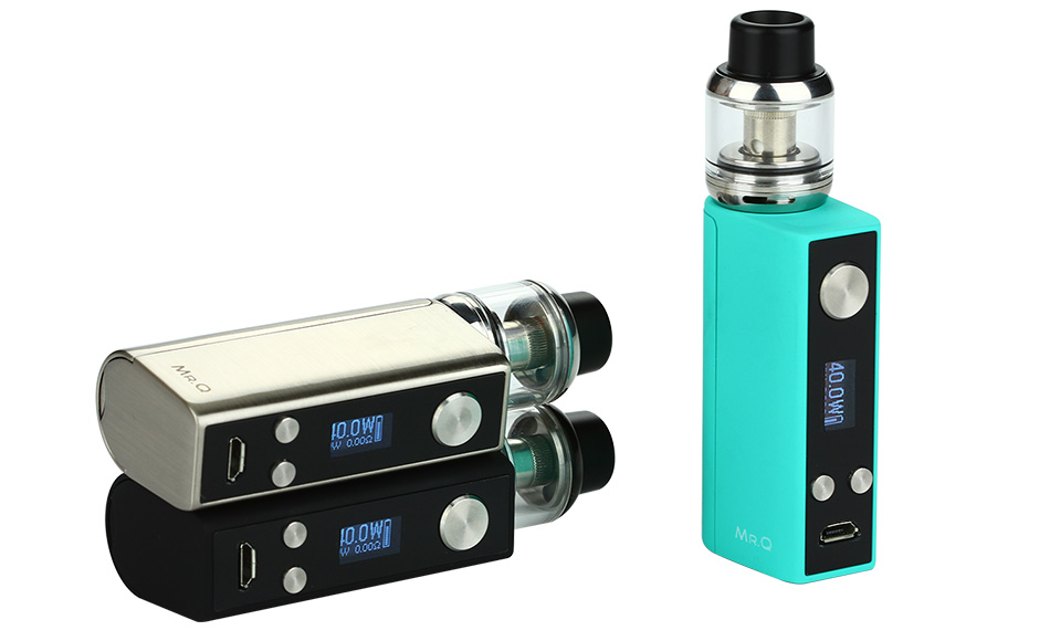 SMY MR.Q 40W TC Starter Kit W/O Battery