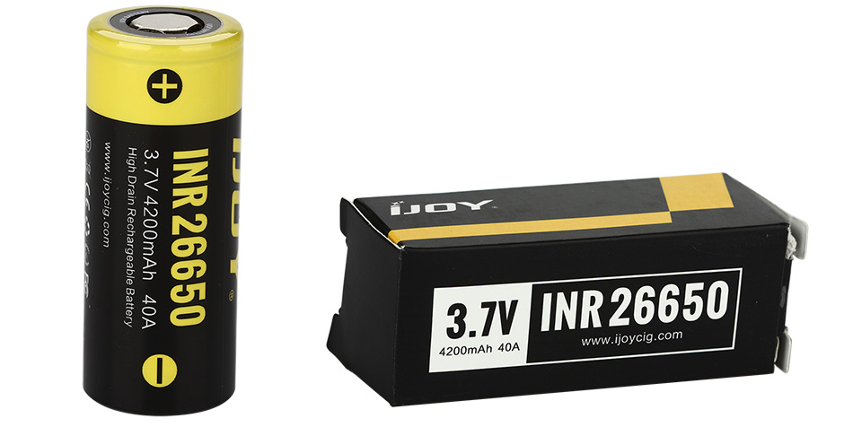 IJOY INR 26650 4200mAh High-drain Battery - 40A
