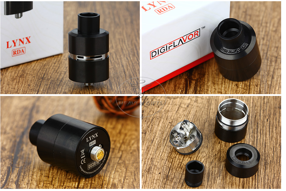 Digiflavor LYNX RDA - Black