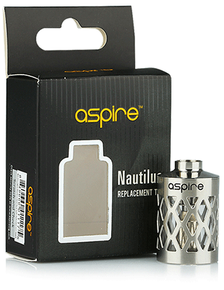 Aspire Nautilus Steel Hollowing Design Replacement Tube
