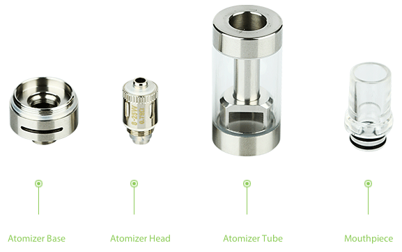 Eleaf GS Air 2 Airflow Adjustable Atomizer(D=16.5) - 2.3ml