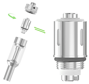 Eleaf GS-Air Dual Coil Airflow Adjustable Atomizer
