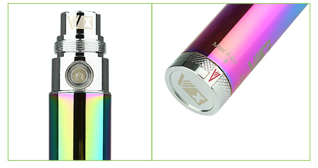 New Rainbow Vision Spinner eGo Variable Voltage Battery-650mAh