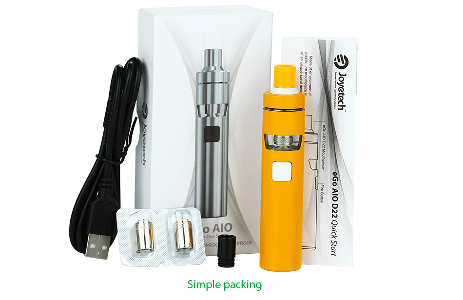 Joyetech eGo AIO D22 Quick Start Kit - 1500mAh