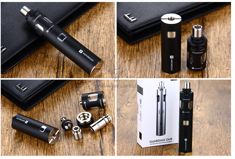 Vaporesso Guardian One Express Kit - 1400mAh, Black