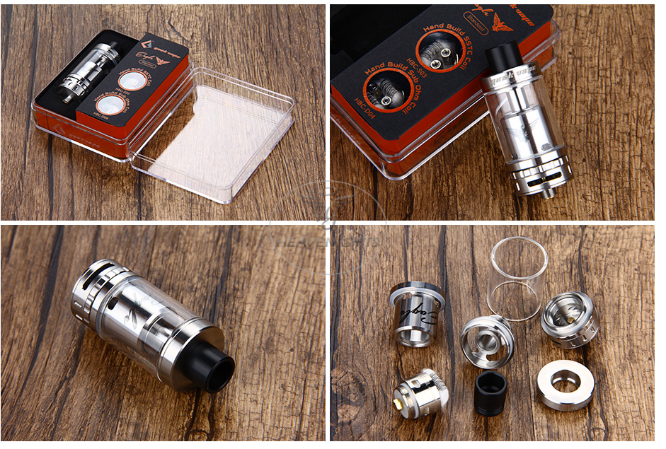 GeekVape Eagle Tank With HBC - 6.2ml, SS