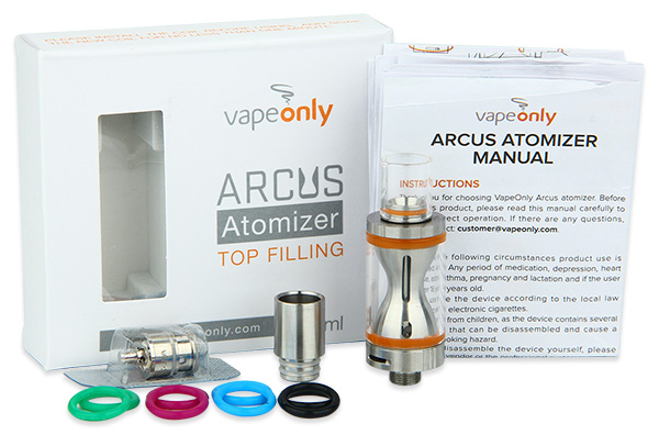 VapeOnly Arcus Atomizer - 2ml