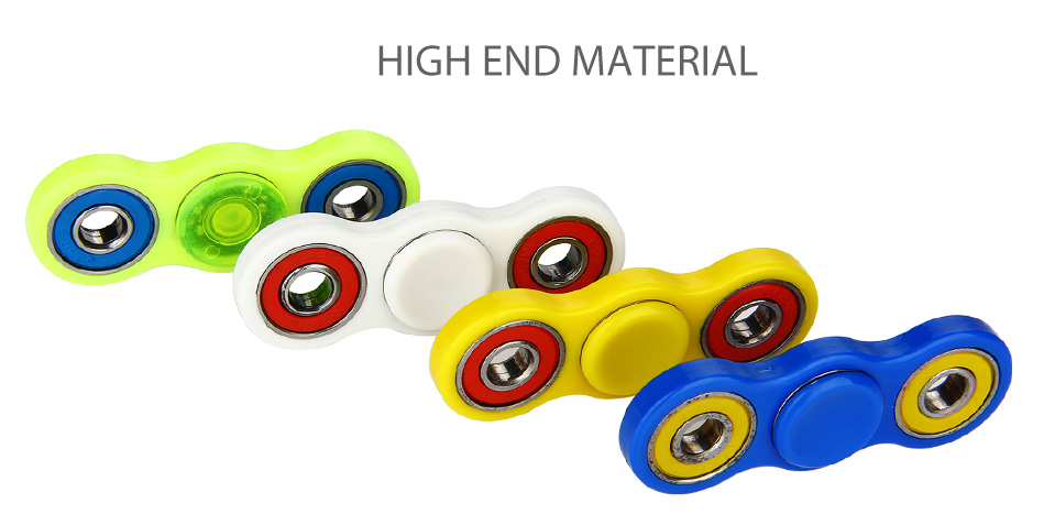 ABS Bat EDC Hand Spinner with Two Spins