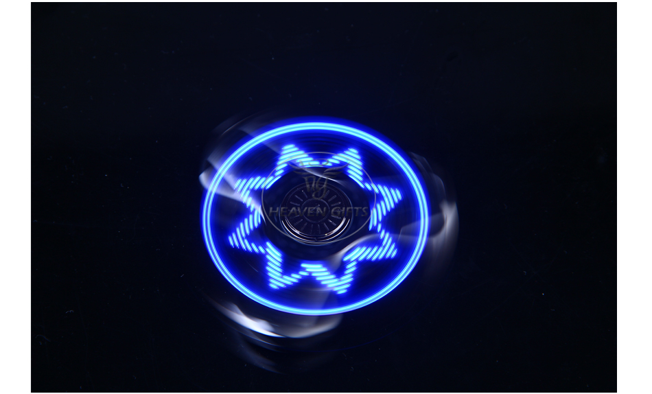 AITURE Ai100 Bluetooth Hand Spinner dengan LED Display