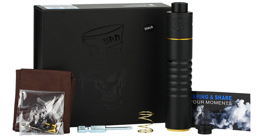 Advken Mad Hatter 24 MECH Kit W / O Battery - черный