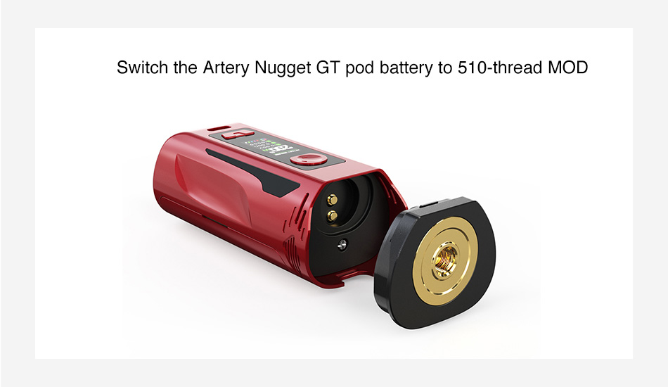 Artery Nugget GT 510 Adapter