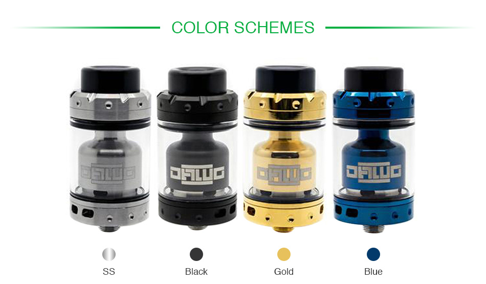 Asmodus Dawg RTA 3.5ml