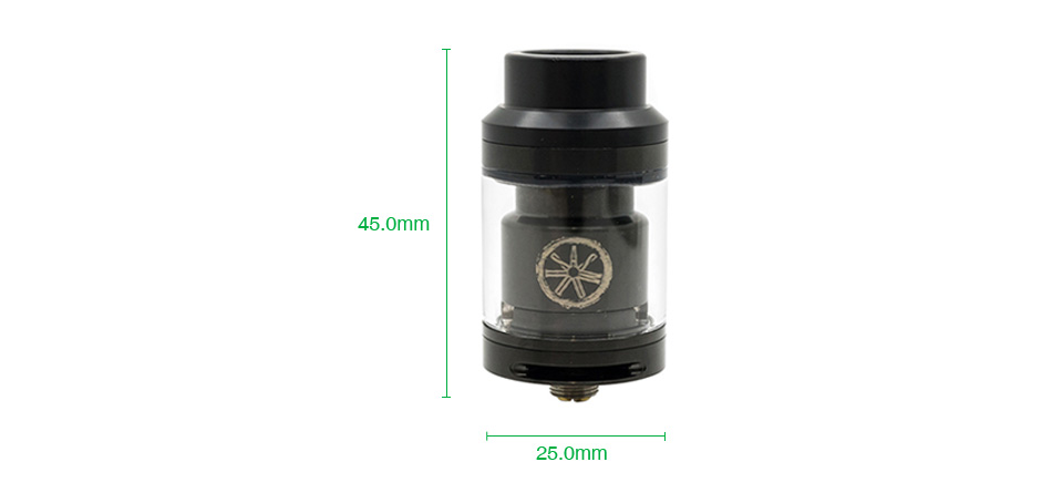 Asmodus Voluna RTA 2.5ml