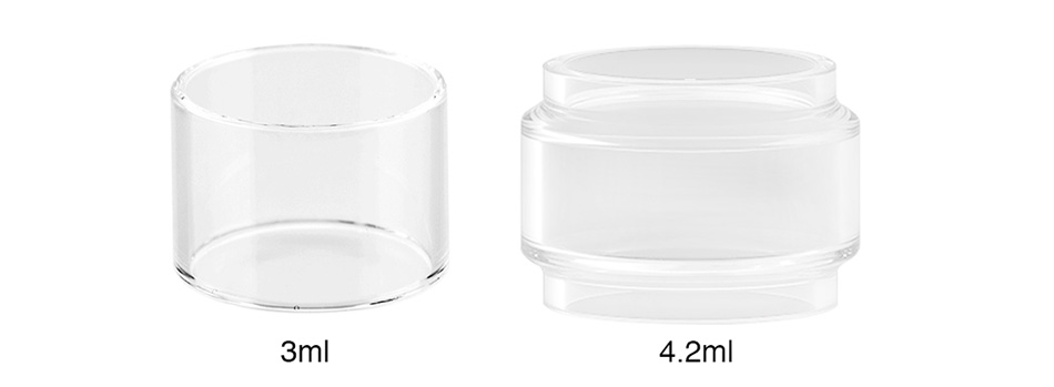 Aspire Cleito 120 Pro Replacement Pyrex Glass Tube 3ml/4.2ml