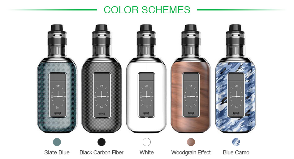 Aspire Skystar 210W Touch Screen TC Kit with Revvo
