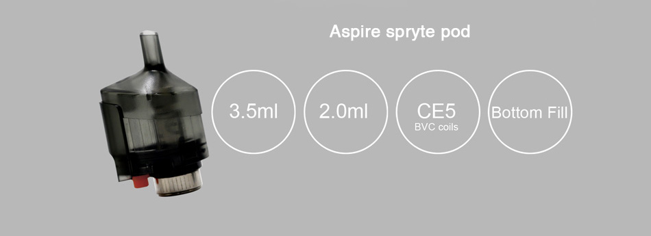 Aspire Spryte Pod 2ml/3.5ml