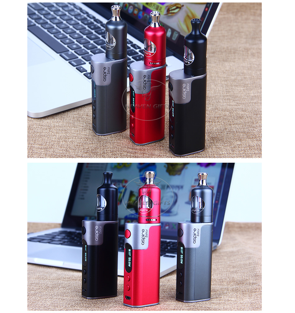 Aspire Zelos 50W Kit with Nautilus 2 - 2500mAh