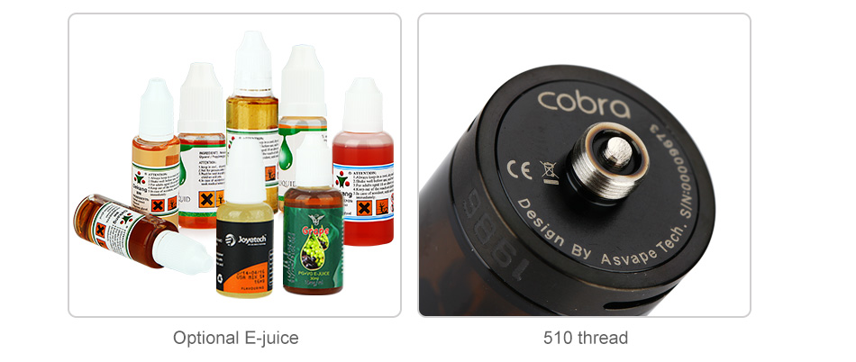 Asvape Cobra Sub Ohm Tank - 3.8ml