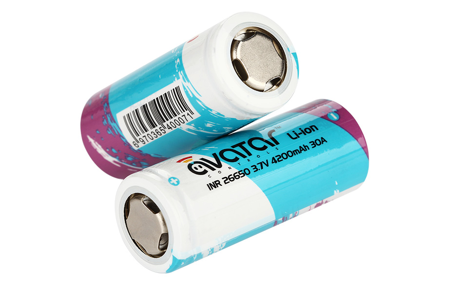 Avatar INR 26650 4200mAh High-drain Battery - 7C 30A