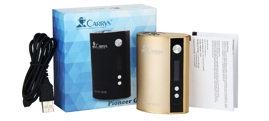CARRYS Pioneer G150 TC Box MOD W / O Battery