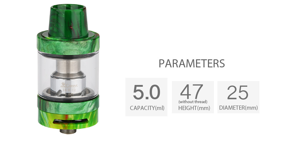CARRYS T4-R Resin Tank - 5ml