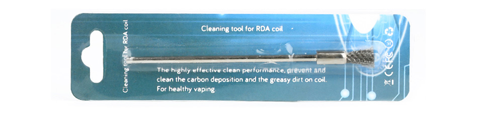 Cleaning Tool for RDA Coil