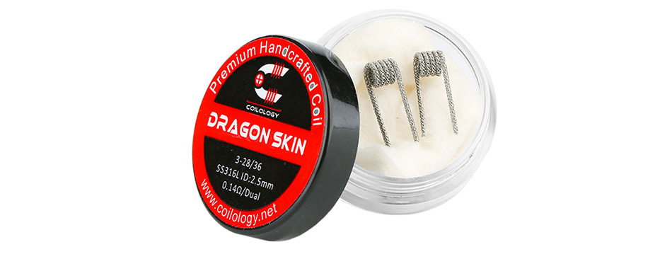 Coilology Dragon Skin Coil Set