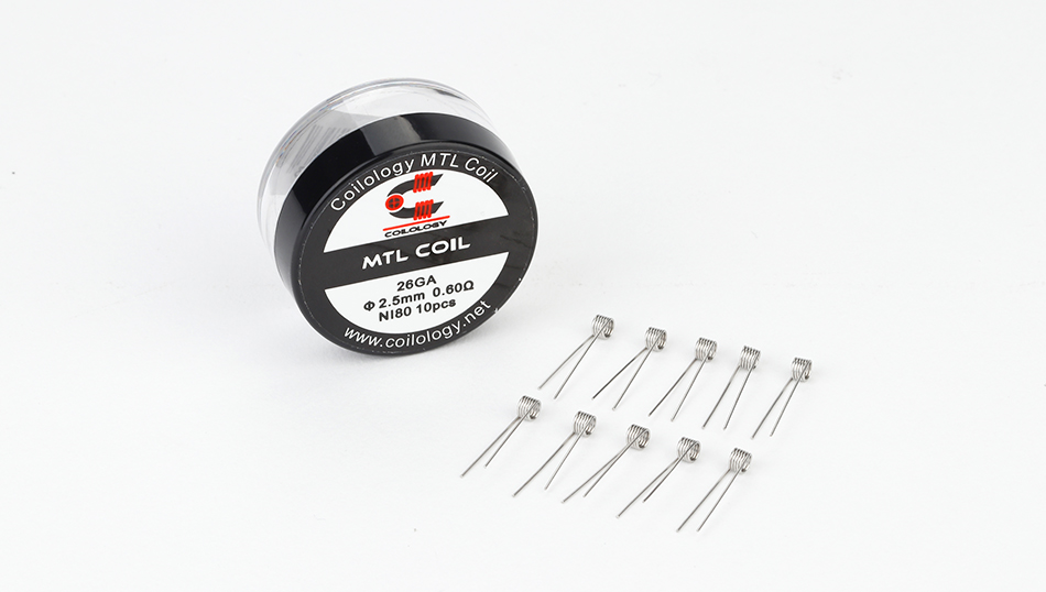 Coilology MTL Series Coil 10pcs/24pcs