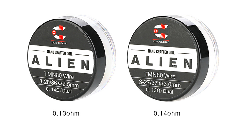 Coilology Twisted Messes Alien Coil 2pcs