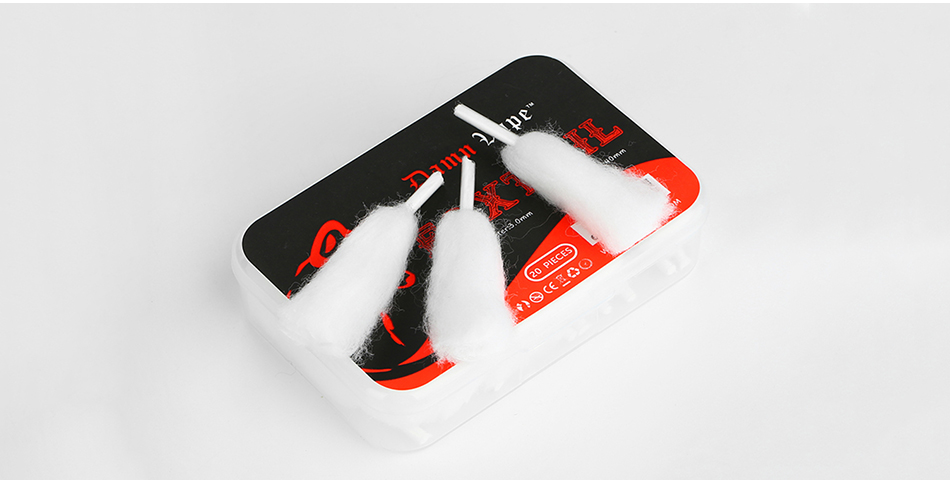 Damn Vape Foxtail Cotton 20pcs