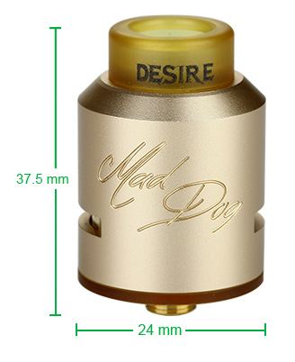 Desire Mad Dog RDA Kit
