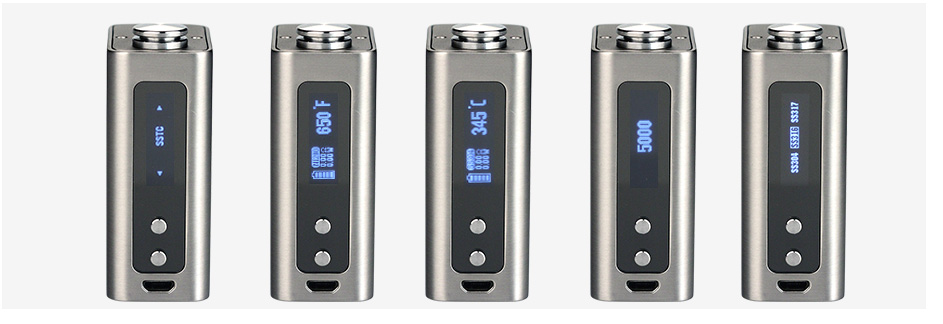Woody Vapes Stabilized Wood X200 TC Box MOD W / O Battery
