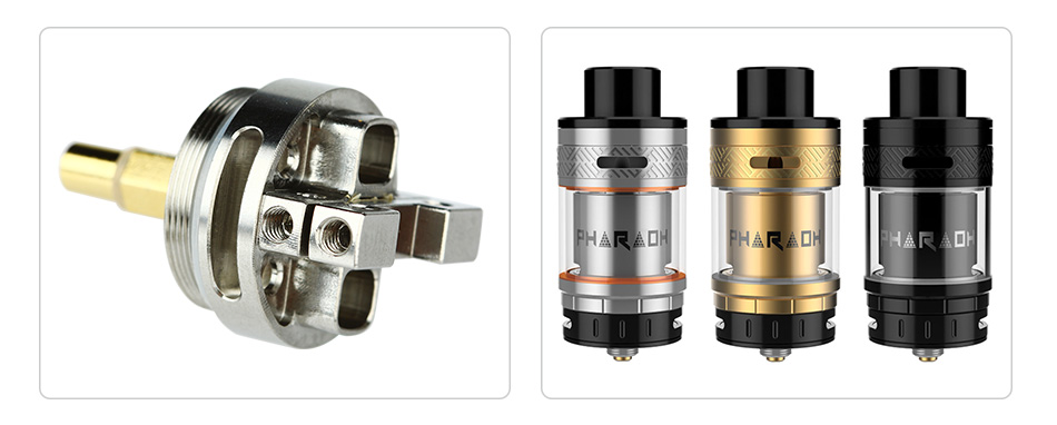 Digiflavor Interchangeable Deck1 and Deck2 for Pharaoh RTA
