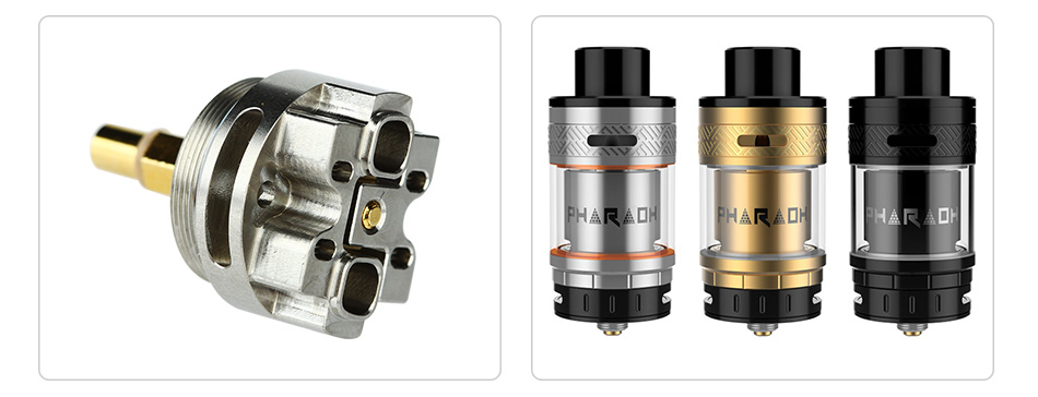 Digiflavor Interchangeable Deck3 and Deck4 for Pharaoh RTA