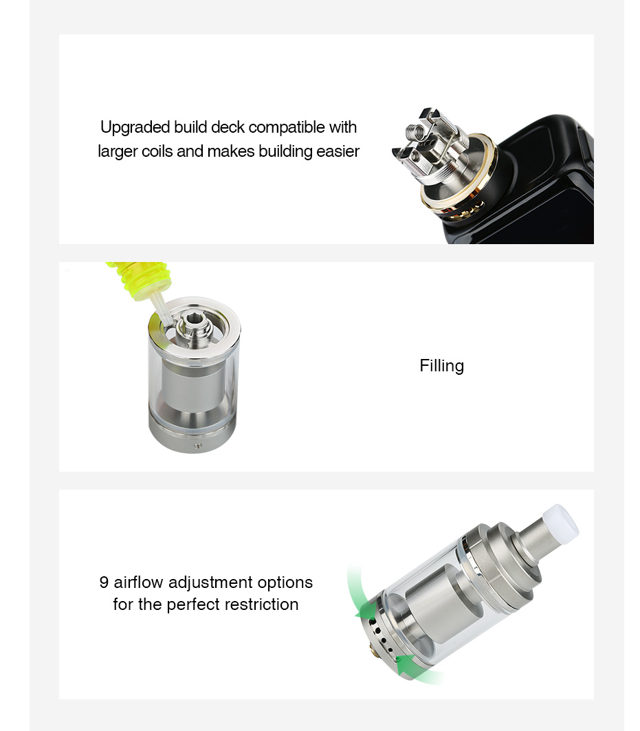 Digiflavor Siren 2 GTA MTL Atomizer 2ml/4.5ml