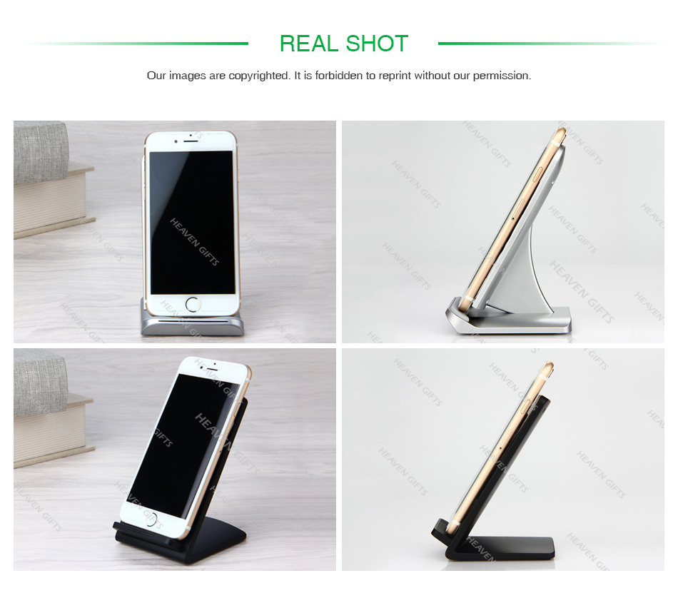 Dual Coil Fast Wireless Charger for Smart Phone