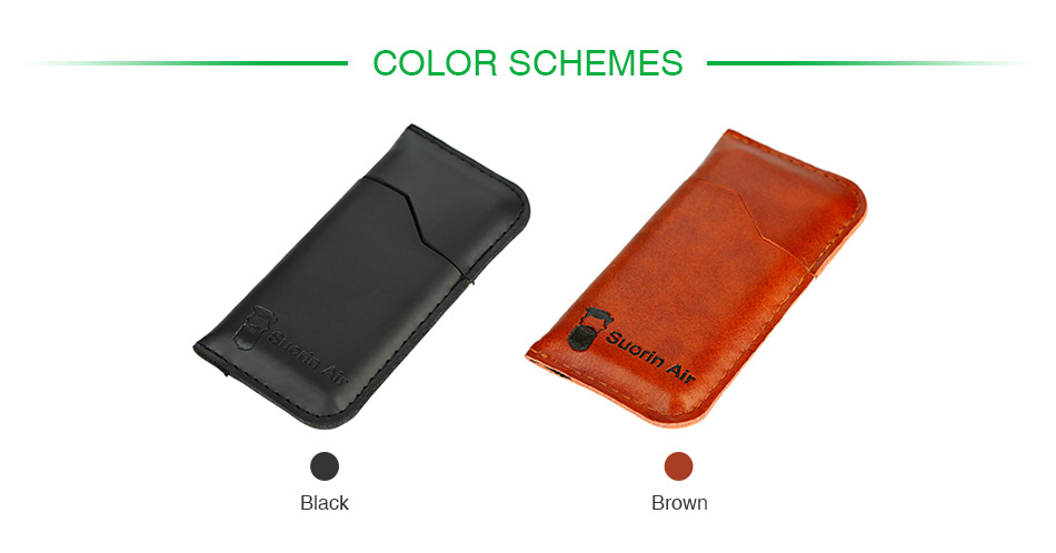 Dustproof Leather Cover for Suorin Air