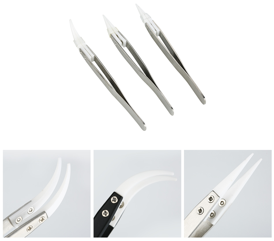 E-cig DIY Multi-functional Ceramic Tweezers