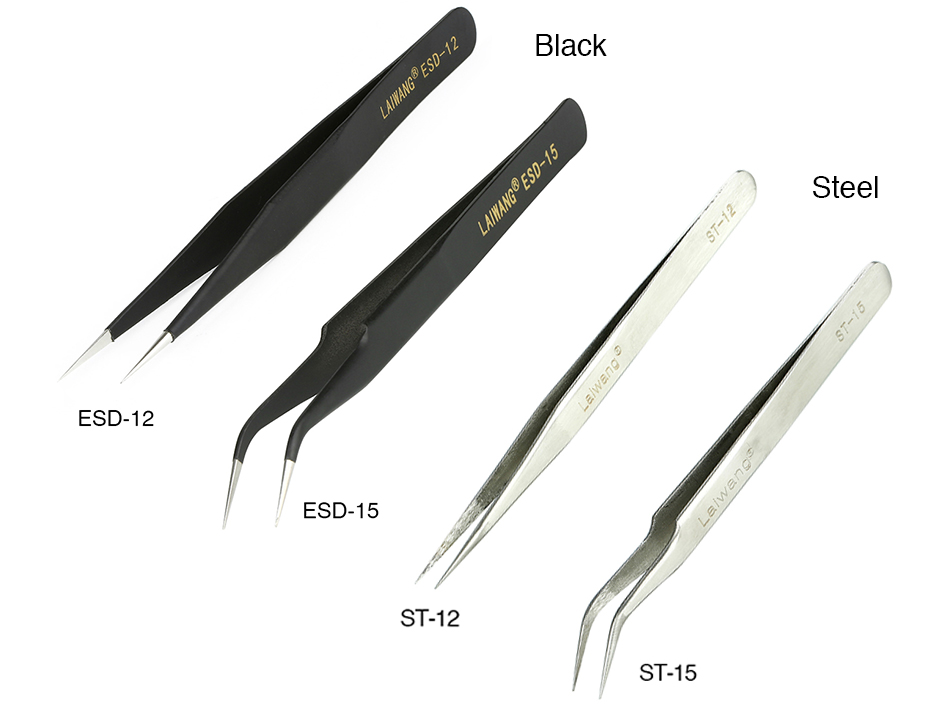 E-cig DIY Multi-functional Cross Lock Tweezers