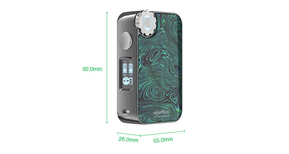 ECOFRI Gear Wireless Charging LED Box Mod