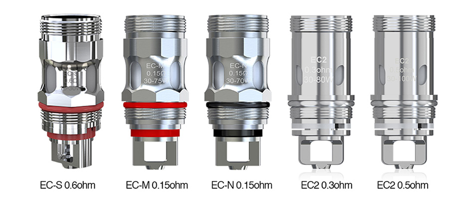 Eleaf EC Series Coil Head para Melo 4/5 5pcs