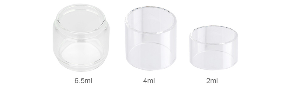 Eleaf ELLO Series Replacement Glass Tube 2ml/4ml/6.5ml