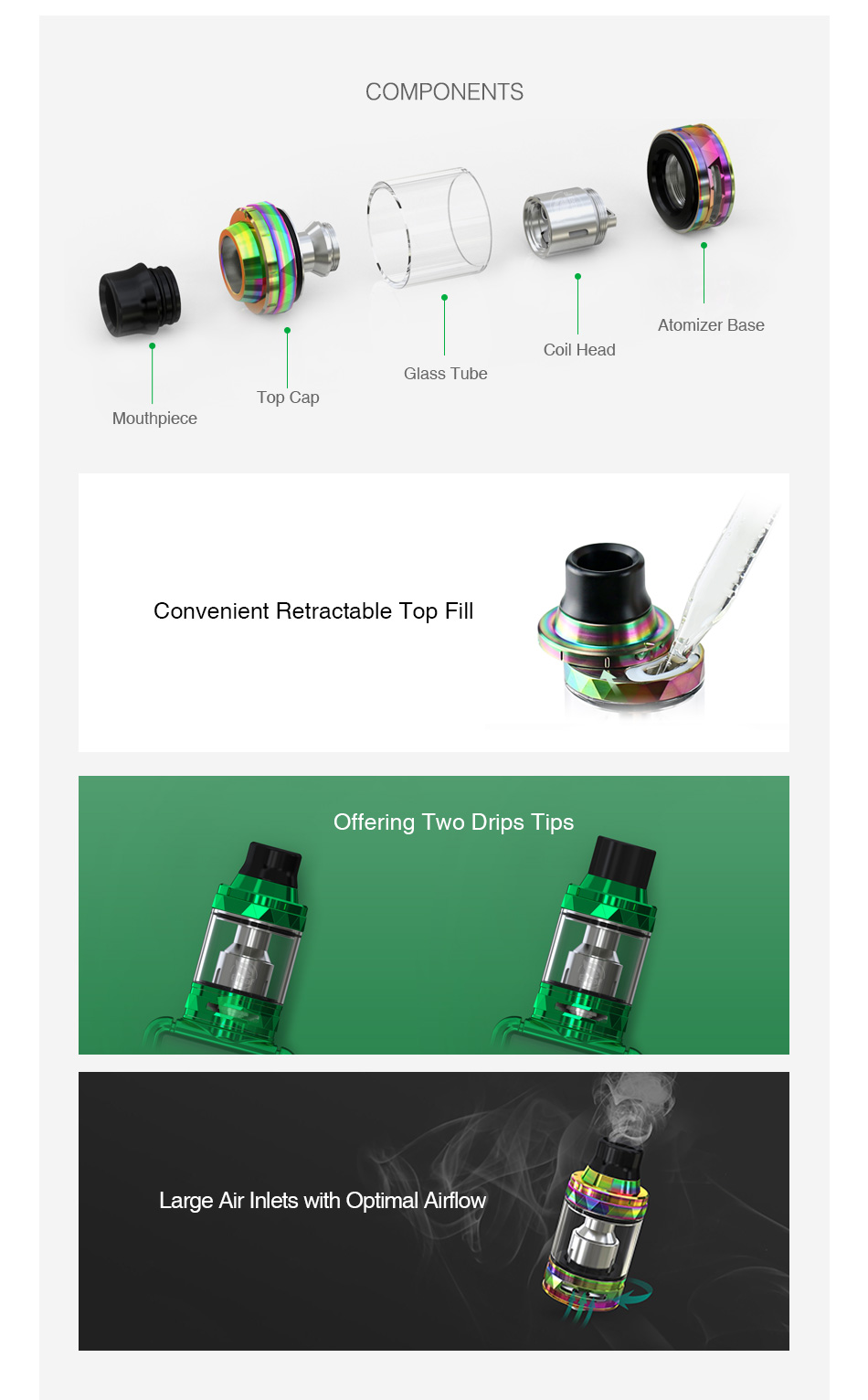 Eleaf ELLO TS Atomizer 2ml/4ml