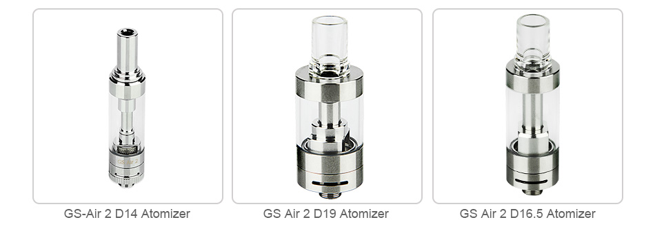 Eleaf GS Air 2 Glass Tube 2ml/2.3ml/2.5ml