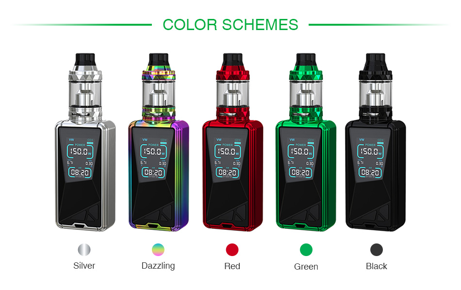 Eleaf Tessera 150W with Ello TS TC Kit 3400mAh