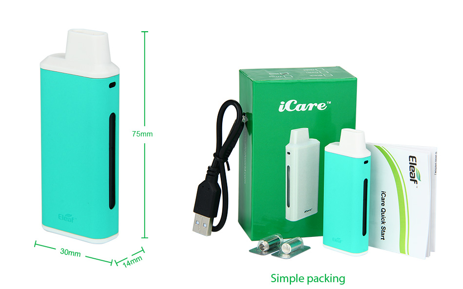 Eleaf iCare Starter Kit - 650mAh