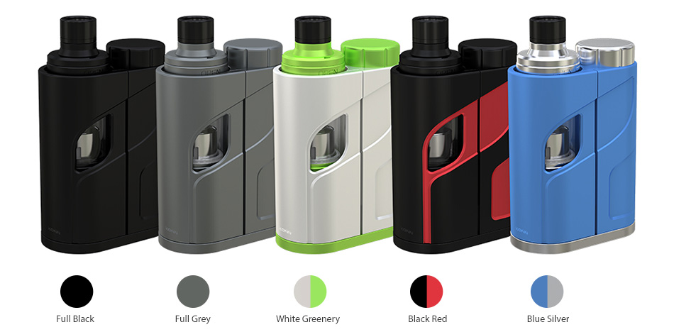 Eleaf iKonn Total dengan Ello Mini XL Full Kit W / O Battery - 5.5ml