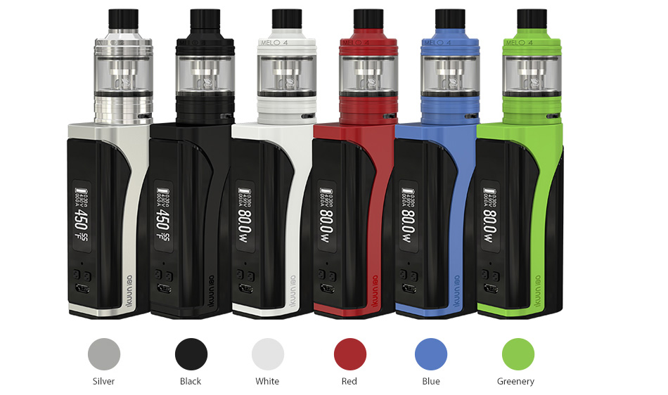 Eleaf iKuun i80 with Melo 4 TC Kit - 3000mAh