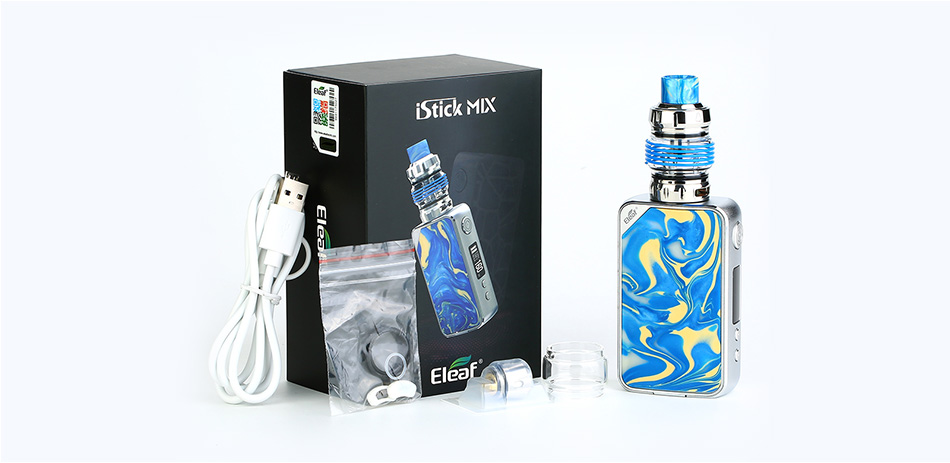 Eleaf iStick Mix 160W Kit with ELLO POP Atomizer