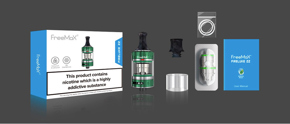 Freemax Fireluke 22 Tank 2ml/3.5ml